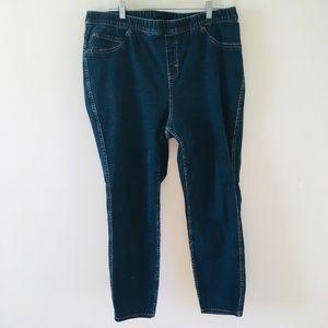 Lane Bryant Pull On Dark Wash Skinny Jeans sz 20